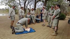 Sean reanimeert een slachtoffer zonder ledematen