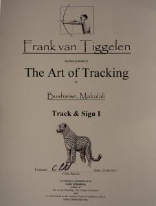 Track & Sign, Level 1