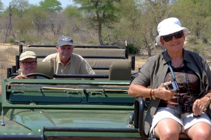 Moeders op de tracker-seat en vaders achterin