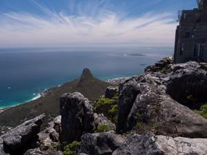 Uitzicht vanaf Tafelberg