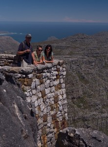 Uitkijkpunt op Tafelberg