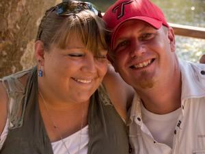 Nuria en Sean (een van de love-koppels van onze lichting!)