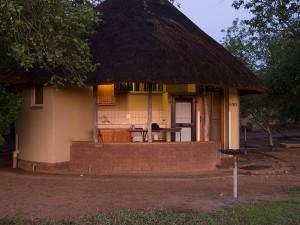 Het huisje in Satara...