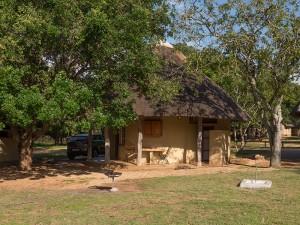 Het huisje in Pretoriuskop